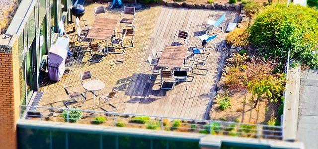 Tasación de terrazas