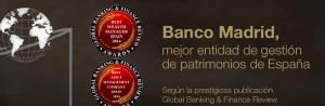 Pantallazo de la home de Banco Madrid