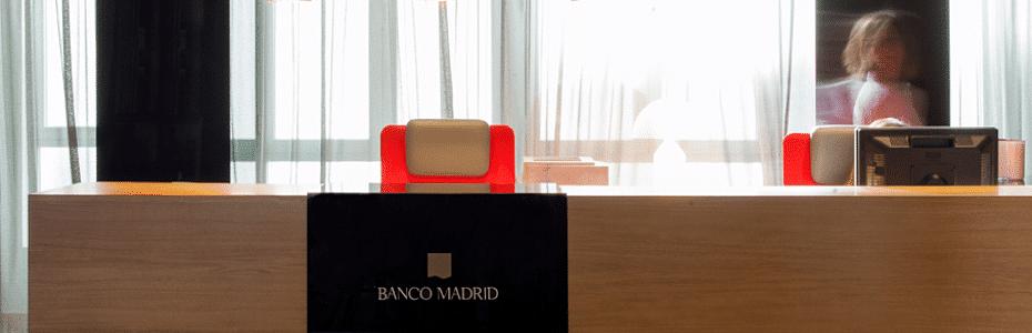Imagen de la web de Banco Madrid