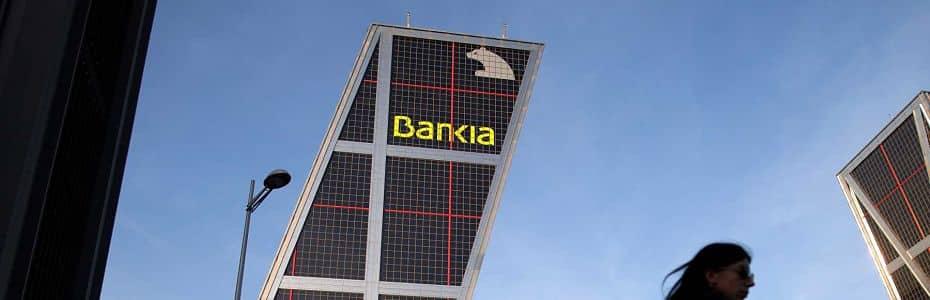 Foto edificio Bankia en Torres Kio