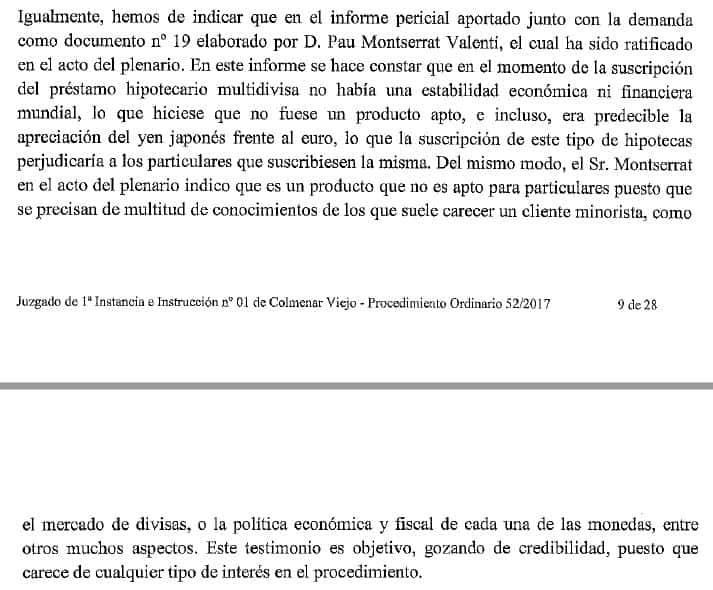 Sentencia 146/2017 de la Magistrada-Juez Montserrat Gamella Garcia