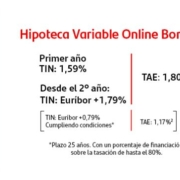 Hipoteca variable de Banco Santander