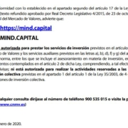 Mind Capital: alerta de la CNMV
