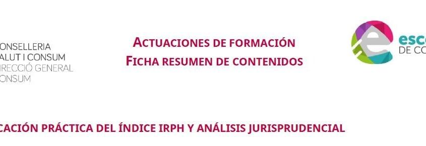 Formación sobre IRPH