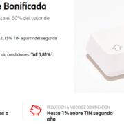 Hipoteca fija de Banco Santander