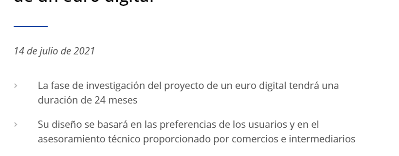 Proyecto Euro Digital